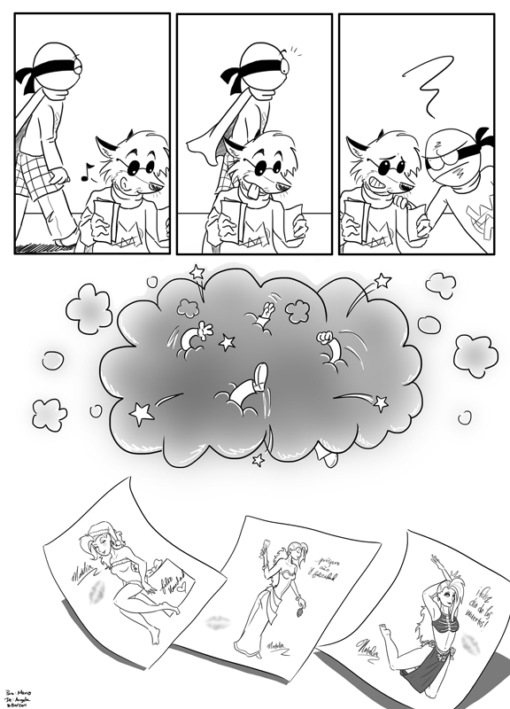 Guest Strip By Angela Thang